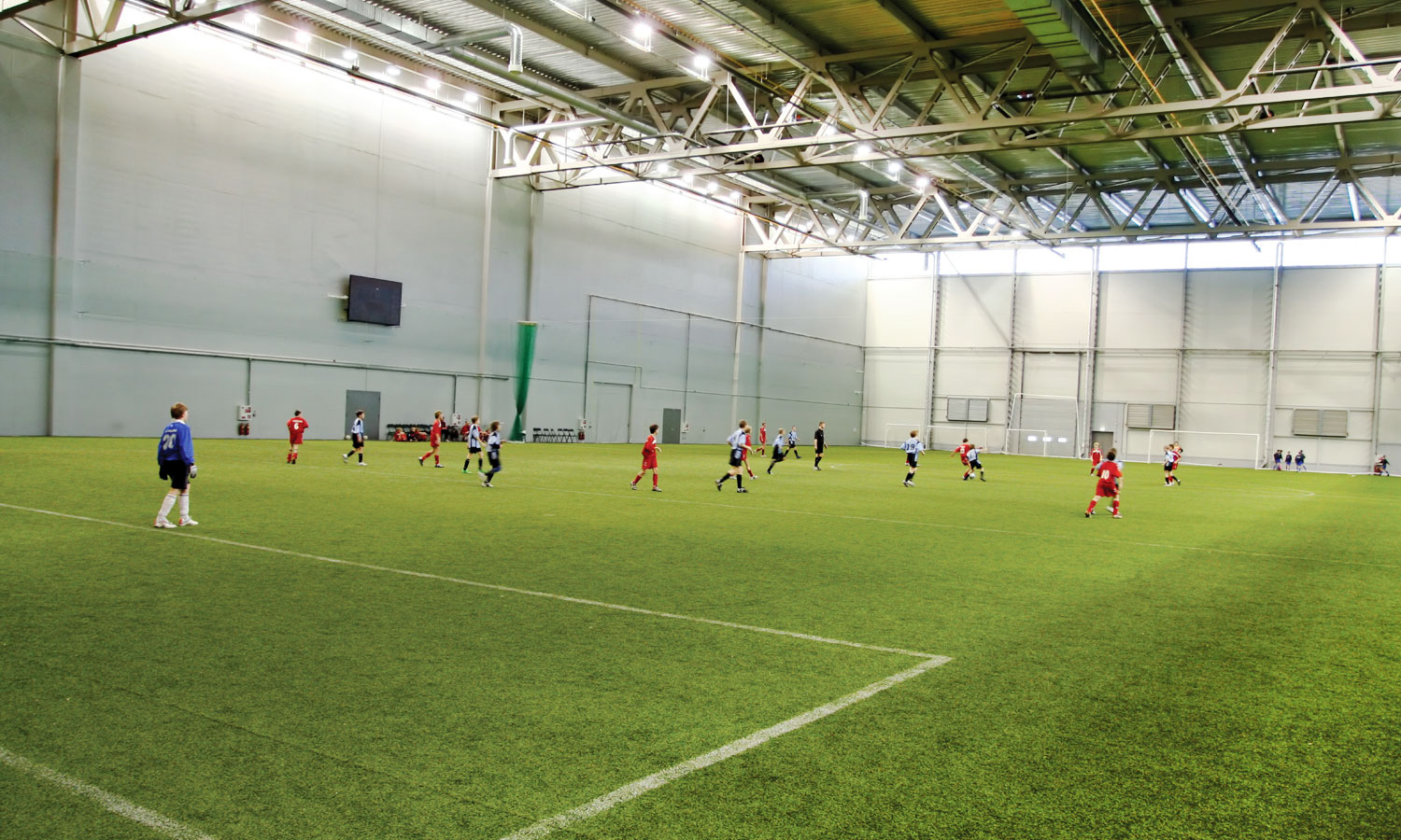 Indoor Sports Arena Astro Turf Soccer Fields