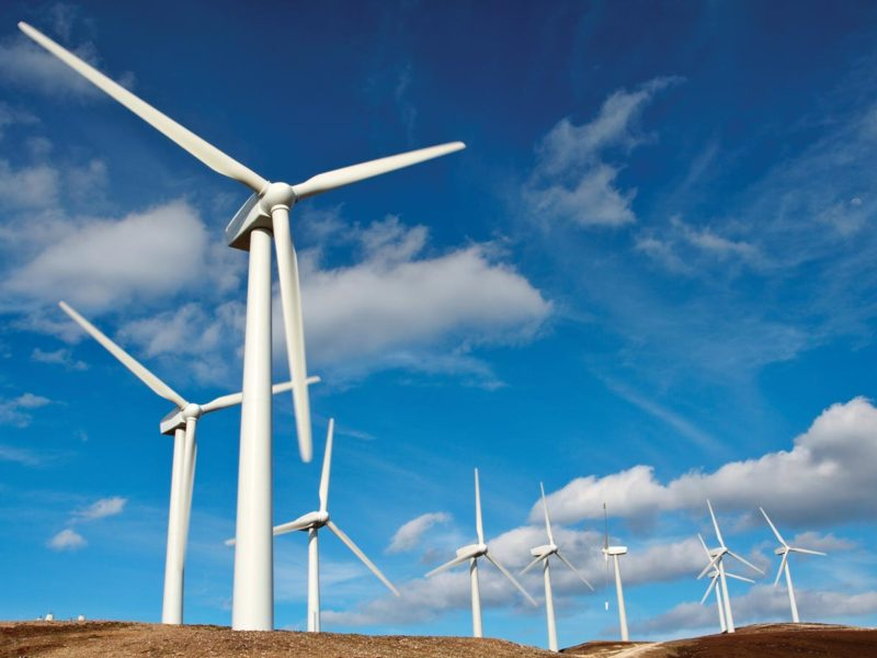 Wind Power Farms Renewable Energy Installations
