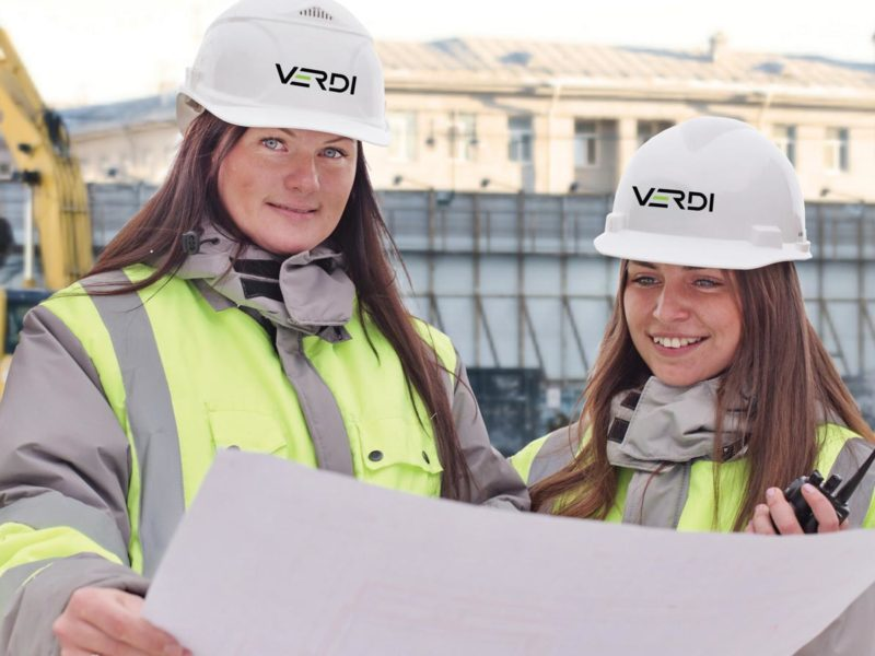 Verdi Construction Team Members